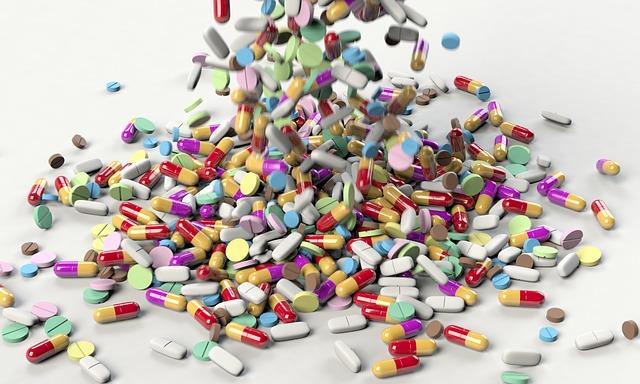 padající léky