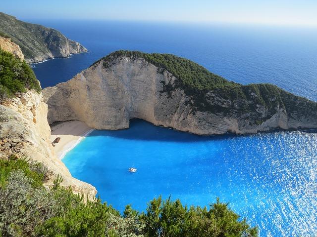 Najkrajšie pláže Grécka