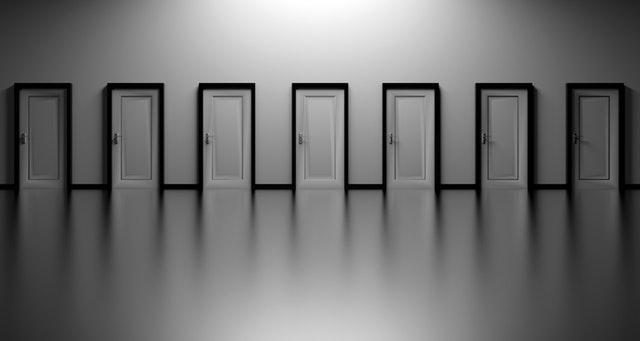 Štýlové dvere v sklenenom prevedení